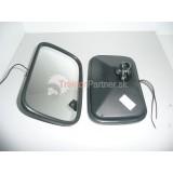 Zrkadlo vonkajšie vyhrievané 12V alebo 24V 250x160 plastový