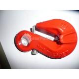 Hák C červený 10mm + oko a istiaca skrutka tr.8; 3,15t  (b)