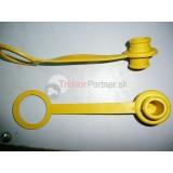 Prachovka zásuvky ISO žltá [KNOMI]