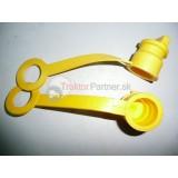 Prachovka zástrčky ISO žltá ( na vlečku)