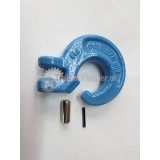 G Hák SHG 8mm tr.10 krúžok štrbinový MODRÝ  (f)  6t